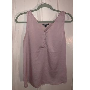 NWT Express Tank Top, Button Closure, Pink